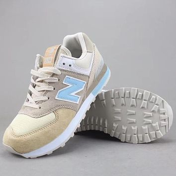 Trendsetter New Balance Wl574   Women Men Fashion Casual  Shoes
