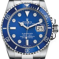 NEVER WORN ROLEX SUBMARINER MENS WATCH 116619LB