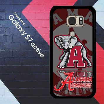 Alabama Crimson Tide X3309 Samsung Galaxy S7 Active Case