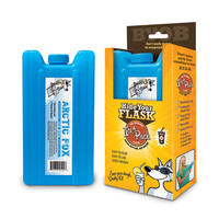 Hidden Ice Pack Alcohol Flask, 14 oz