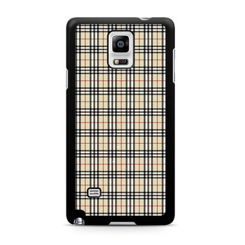 Burberry Note 4 Case