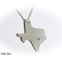 Your State Pendant Necklace