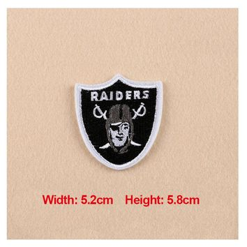 High Quality 1PC Patches For Clothing Embroidery Badge Raiders Patches For Apparel Bags Hat Cap DIY Accessories