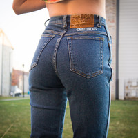 "ALL SIZES Vintage ""HERA"" High Waisted Denim Jeans"