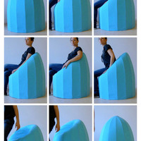Bounce - Foam Chair by Véronique Baer » Yanko Design