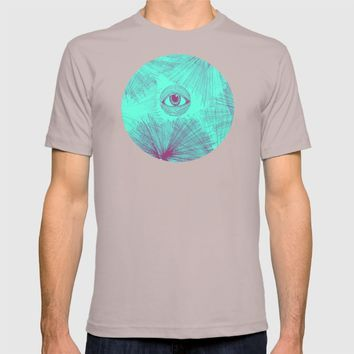 Uncommon Knowledge - Teal T-shirt by Ducky B