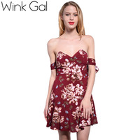 Summer Club Dress Short Sexy Dresses Underwire Bow Bandage Deep V Neck Woman Dress