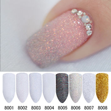 2g/Box Holographic Sugar Nail Glitter Dust Powder