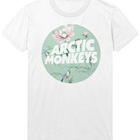 Arctic Monkeys T-Shirt - Alex Turner - Vintage Pattern Hipster Indie Rock Music Shirt Sweatshirt - Mens / Womens