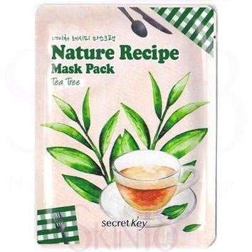 Secret Key Nature Recipe Tea Tree Mask Pack