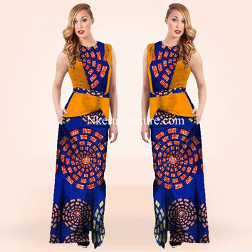 Winter Autumn Women Bodycon Dress African Print Dashiki Vestidos Dress Plus Size Dress YU567