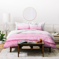 Monika Strigel WITHIN THE TIDES CASHMERE ROSE Duvet Cover