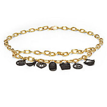 Moschino - Charms Chain Belt - Saks Fifth Avenue Mobile