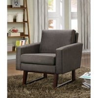 CT1900174 Dark Brown Accent Chair