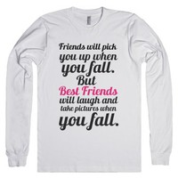 Best Friends-Unisex White T-Shirt