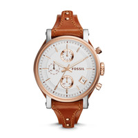 Original Boyfriend Leather Watch | Fossil