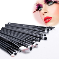 Professional Makeup 20pcs Brushes Set Powder Foundation Eyeshadow Eyeliner Lip Brush Tool AP = 1645721860