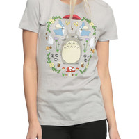 Studio Ghibli Her Universe My Neighbor Totoro Dream Garden Girls T-Shirt