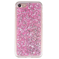 Pink Flakes iPhone Case
