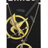 """The Hunger Games Necklace Pendant Necklace """"Brooch"""""""