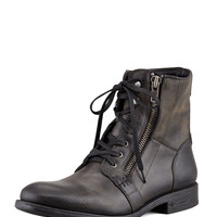 Men's Bleeker Side-Zip Boot, Black - John Varvatos Star USA - Black