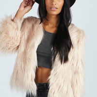 Mollie All Over Faux Fur Jacket