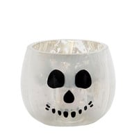 Yankee Candle Halloween Pumpkin Skull Tea Light Holder