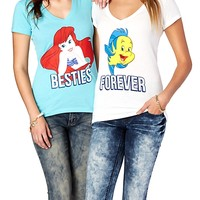 The Little Mermaid BFF Tee Set