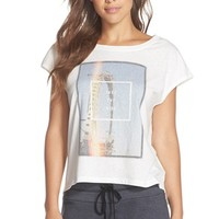 Women's 35mm Clothing 'Jada' Graphic Muscle Tee,