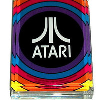 Atari Video Game Acrylic Executive Desk Top Paperweight