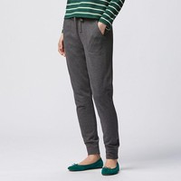 WOMEN LOUNGE RIBBED PANTS | UNIQLO