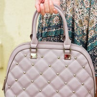 Love Lock Down Purse: Mauve