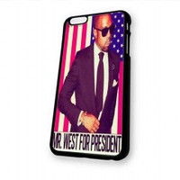 Kanye for president in 2020 for iphone 6 case