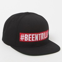 Been Trill Orthodox Snapback Hat - Mens Backpack - Black/Red - One