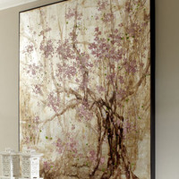 John-Richard Collection Plum Blossom Painting