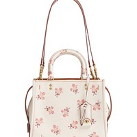 COACH 1941 Floral Bow Rogue 25 Leather Satchel | Nordstrom