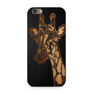 Black Bamboo - Giraffe Phone Case