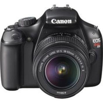 EOS Rebel T3 Digital Camera With Ef-s 18-55mm F/3.5-5.6 Is Autofocus Lens + Supreme Deluxe SLR Camera Bundle - Sears