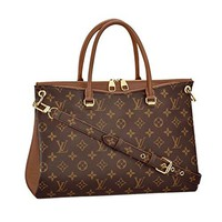 Louis Vuitton Monogram Canvas Pallas Noisette Handbag Article: M42755 Made in France
