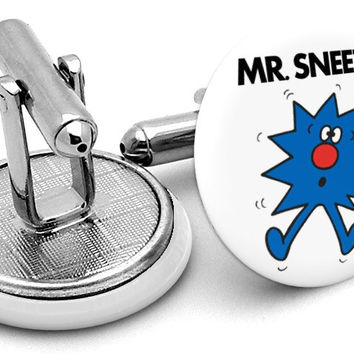Mr Sneeze Cufflinks