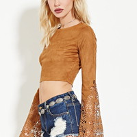 Rehab Crocheted Crop Top