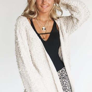 Change Up Tassel Yarn Sweater Cardigan