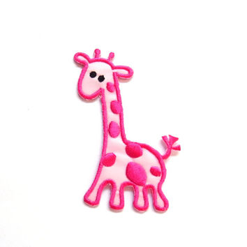 Giraff Patch/Pink/ Babies/Theme Park