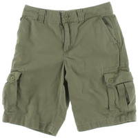 Polo Ralph Lauren Womens Canvas Cargo Bermuda, Walking Shorts