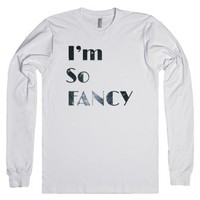 I'm So FANCY | Iggy Shirt-Unisex White T-Shirt