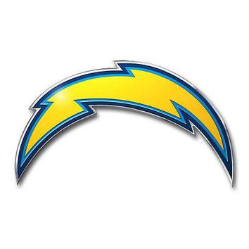 Licensed Official NFL Los Angeles Chargers Premium Vinyl Decal / Sticker / Emblem - Pick Your Pack