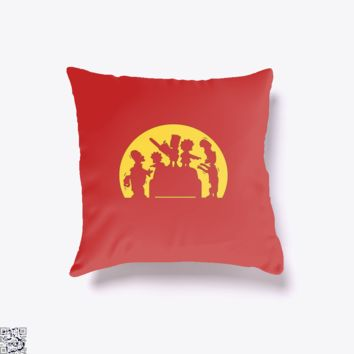 Doh! Zombies!, The Simpsons Throw Pillow Cover