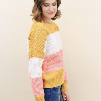 Merry Bright Colored Sweater