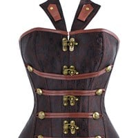 Atomic Renaissance Inspired Steel Boned Corset