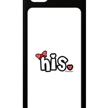 Matching His and Hers Design - His - Red Bow iPhone 5 / 5S Grip Case  by TooLoud